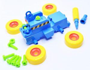 Đồ chơi lắp ráp giúp trẻ phát triển trí thông minh vượt trội