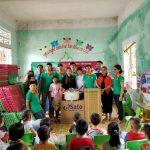 """SATO: """"NỤ CƯỜI LAN TỎA 2018"""" lan tỏa nụ cười đến trẻ em vùng cao tại Hòa Bình"""