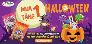 Mừng Halloween_Tặng Kẹo Halloween Độc Đáo cho bé yêu🎃